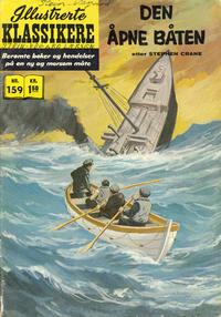 Cover Thumbnail for Illustrerte Klassikere [Classics Illustrated] (Illustrerte Klassikere / Williams Forlag, 1957 series) #159 - Den åpne båten