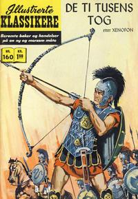 Cover Thumbnail for Illustrerte Klassikere [Classics Illustrated] (Illustrerte Klassikere / Williams Forlag, 1957 series) #160 - De ti tusens tog
