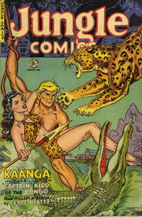 Cover Thumbnail for Jungle Comics (Superior Publishers Limited, 1951 series) #139