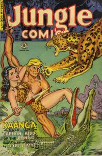 Cover Thumbnail for Jungle Comics (Superior, 1951 series) #139