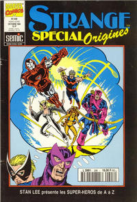 Cover Thumbnail for Strange Spécial Origines (Semic S.A., 1989 series) #298 hors série