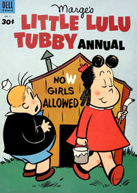 Cover Thumbnail for Marge's Little Lulu Tubby Annual (Dell, 1953 series) #2 [Canadian edition]