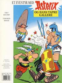 Cover Thumbnail for Asterix (Hjemmet / Egmont, 1998 series) #1 - Asterix og hans tapre gallere [11. opplag]