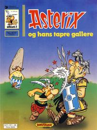 Cover Thumbnail for Asterix (Hjemmet / Egmont, 1969 series) #1 - Asterix og hans tapre gallere [10. opplag]