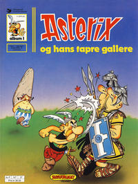 Cover Thumbnail for Asterix (Hjemmet / Egmont, 1969 series) #1 - Asterix og hans tapre gallere [9. opplag]