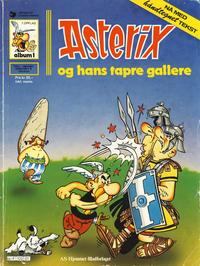 Cover Thumbnail for Asterix (Hjemmet / Egmont, 1969 series) #1 - Asterix og hans tapre gallere [7. opplag]