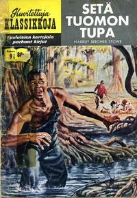 Cover Thumbnail for Kuvitettuja Klassikkoja (Kuvajulkaisut, 1956 series) #9 - Setä Tuomon tupa