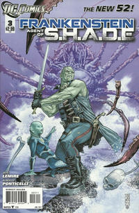 Cover Thumbnail for Frankenstein, Agent of S.H.A.D.E. (DC, 2011 series) #3