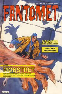 Cover Thumbnail for Fantomet (Semic, 1976 series) #21/1988