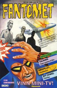 Cover Thumbnail for Fantomet (Semic, 1976 series) #20/1988
