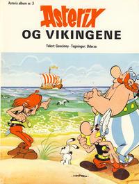 Cover Thumbnail for Asterix (Hjemmet / Egmont, 1969 series) #3 - Asterix og vikingene [2. opplag]