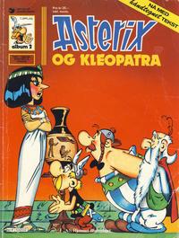 Cover Thumbnail for Asterix (Hjemmet / Egmont, 1969 series) #2 - Asterix og Kleopatra [7. opplag]