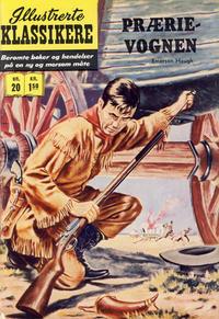 Cover Thumbnail for Illustrerte Klassikere [Classics Illustrated] (Illustrerte Klassikere / Williams Forlag, 1957 series) #20 - Prærievognen [1. opplag]