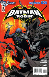 Cover Thumbnail for Batman and Robin (DC, 2011 series) #3