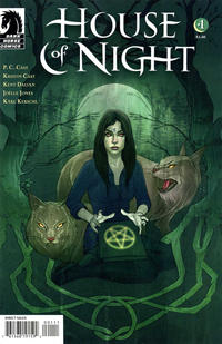 Cover Thumbnail for House of Night (Dark Horse, 2011 series) #1 [Jenny Frison Cover]