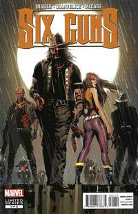 Cover Thumbnail for Six Guns (Marvel, 2012 series) #1
