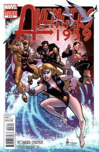 Cover Thumbnail for Avengers 1959 (Marvel, 2011 series) #3