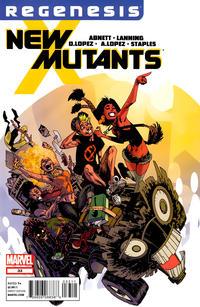 Cover Thumbnail for New Mutants (Marvel, 2009 series) #33