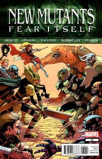 Cover Thumbnail for New Mutants (Marvel, 2009 series) #32