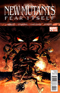 Cover Thumbnail for New Mutants (Marvel, 2009 series) #30 [Direct Edition]