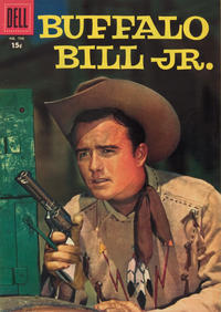 Cover for Four Color (Dell, 1942 series) #798 - Buffalo Bill, Jr.