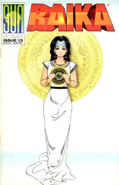 Cover for Raika (Sun Comic Publishing, 1992 series) #13