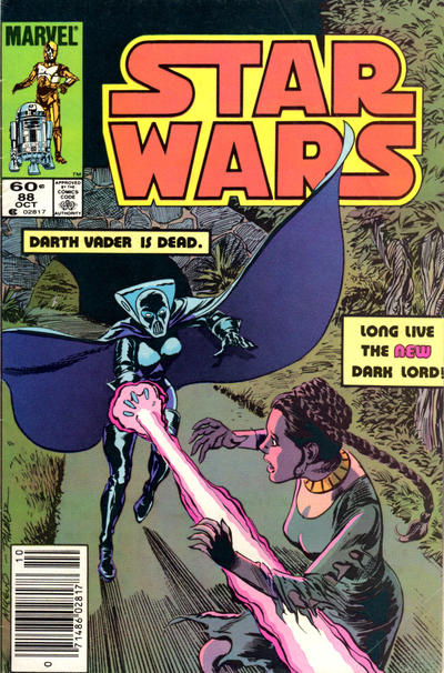 Cover for Star Wars (Marvel, 1977 series) #88 [Direct]