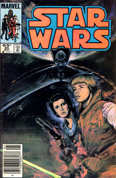 Cover for Star Wars (Marvel, 1977 series) #95 [Direct]