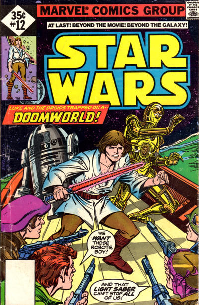 Cover for Star Wars (Marvel, 1977 series) #12 [Regular Edition]