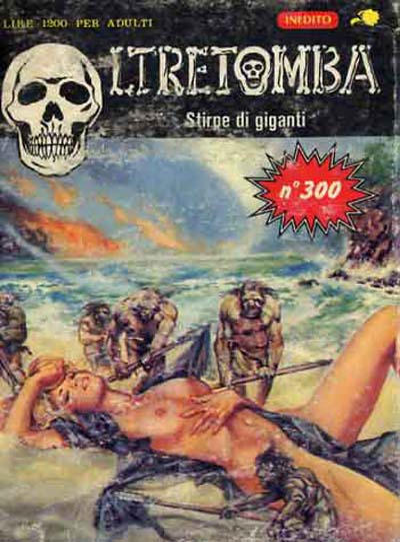 Cover for Oltretomba (Ediperiodici, 1971 series) #300