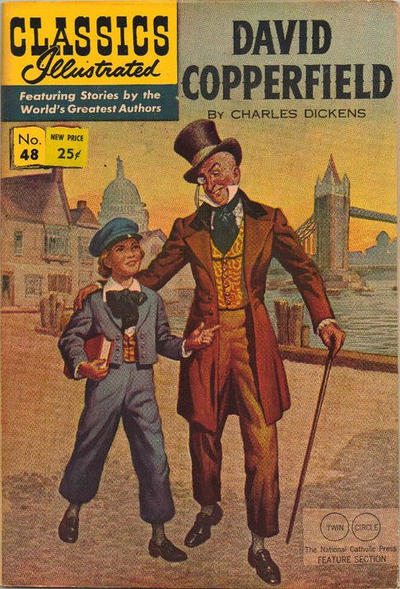 Cover for Classics Illustrated (Gilberton, 1947 series) #48 [O] - David Copperfield