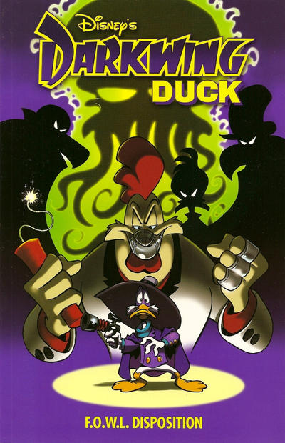 Cover for Darkwing Duck: F.O.W.L. Disposition (Boom! Studios, 2011 series) #[nn]