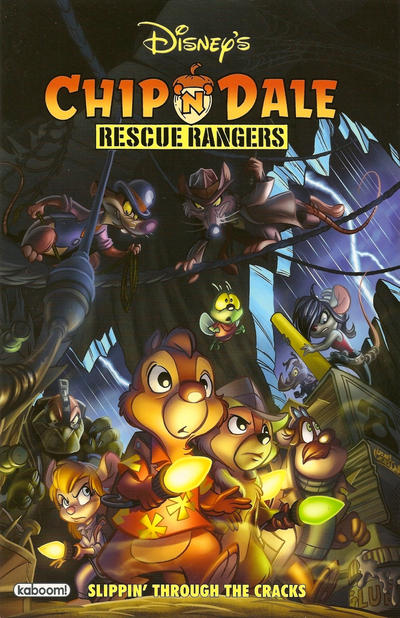 Cover for Chip 'n' Dale Rescue Rangers: Slippin' Through the Cracks (Boom! Studios, 2011 series) #[nn]