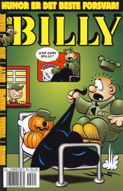 Cover for Billy (Hjemmet / Egmont, 1998 series) #21/2011