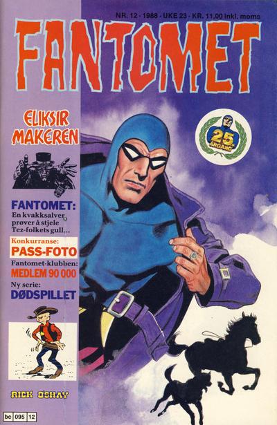 Cover for Fantomet (Semic, 1976 series) #12/1988