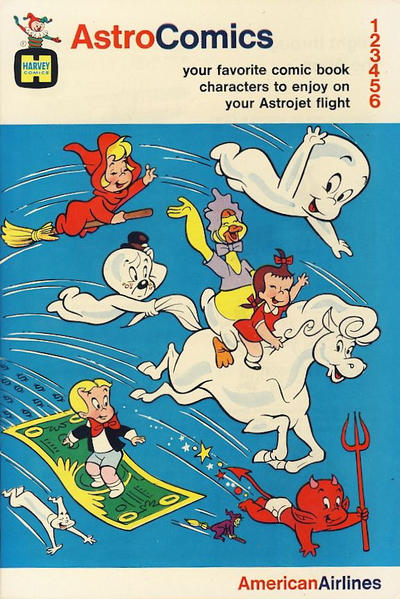 Cover for Astro Comics (Harvey, 1968 series) #[1968-1]