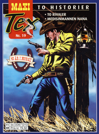 Cover for Maxi Tex (Hjemmet / Egmont, 2008 series) #19