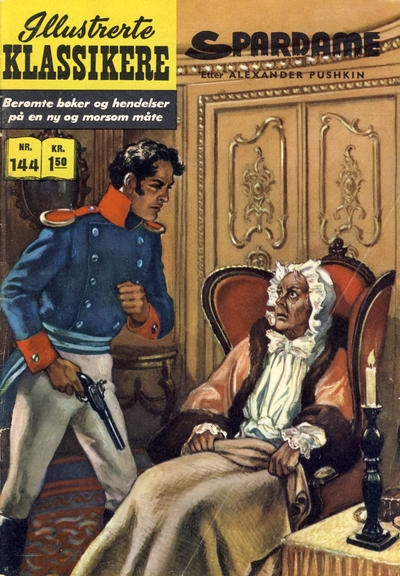 Cover for Illustrerte Klassikere [Classics Illustrated] (Illustrerte Klassikere / Williams Forlag, 1957 series) #144 - Spardame