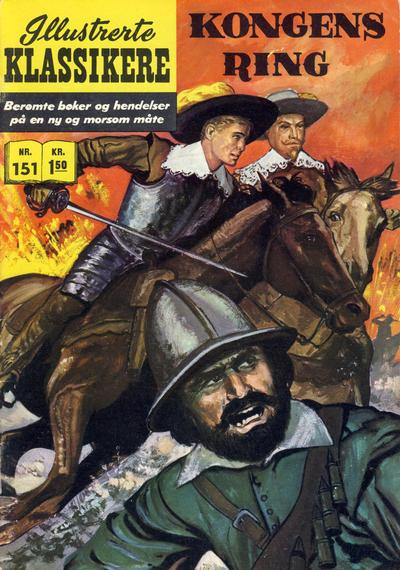 Cover for Illustrerte Klassikere [Classics Illustrated] (Illustrerte Klassikere / Williams Forlag, 1957 series) #151 - Kongens ring