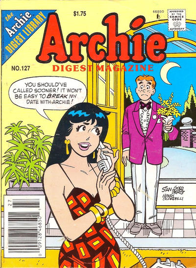 Cover for Archie Comics Digest (Archie, 1973 series) #127