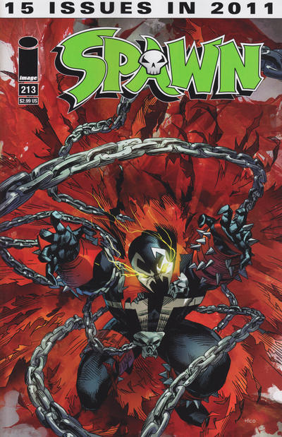 Cover for Spawn (Image, 1992 series) #213