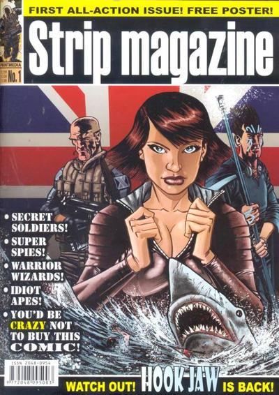 Cover for Strip Magazine (Print Media, 2011 series) #1