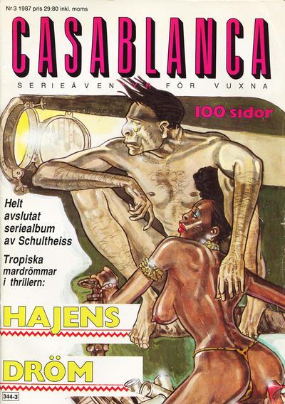 Cover for Casablanca (Epix, 1987 series) #3/1987