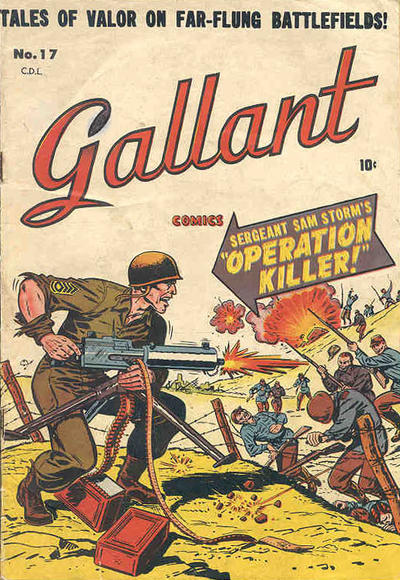 Cover for Gallant (Bell Features, 1951 ? series) #17
