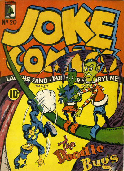 Cover for Joke Comics (Bell Features, 1942 series) #20