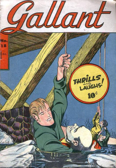 Cover for Gallant (Bell Features, 1951 ? series) #18