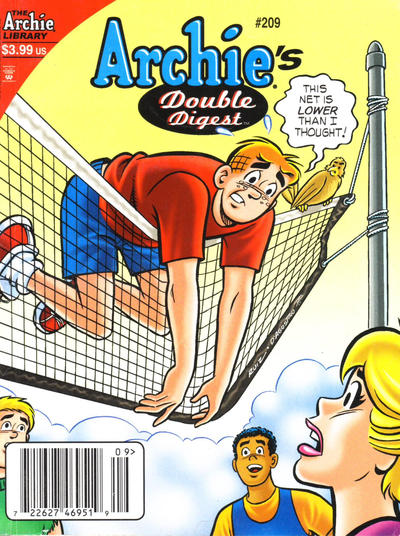 Cover for Archie's Double Digest Magazine (Archie, 1984 series) #209 [Direct Edition]