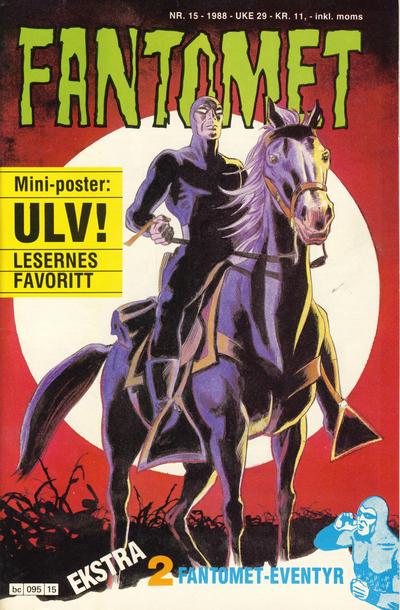 Cover for Fantomet (Semic, 1976 series) #15/1988
