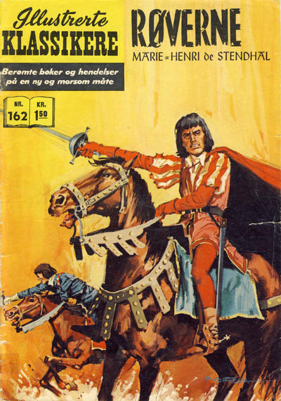 Cover for Illustrerte Klassikere [Classics Illustrated] (Illustrerte Klassikere / Williams Forlag, 1957 series) #162 - Røverne