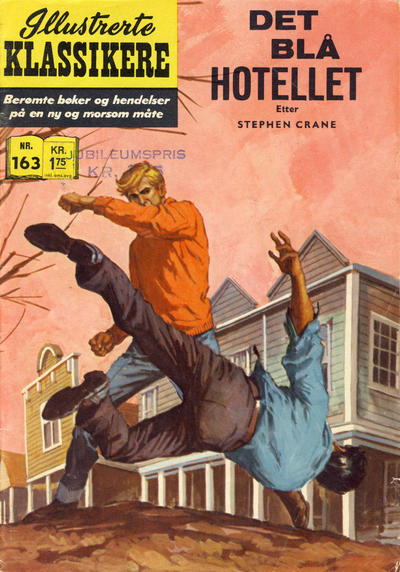 Cover for Illustrerte Klassikere [Classics Illustrated] (Illustrerte Klassikere / Williams Forlag, 1957 series) #163 - Det blå hotellet